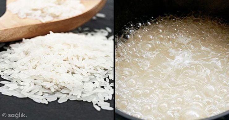 pirinci yanlış pişiriyoruz