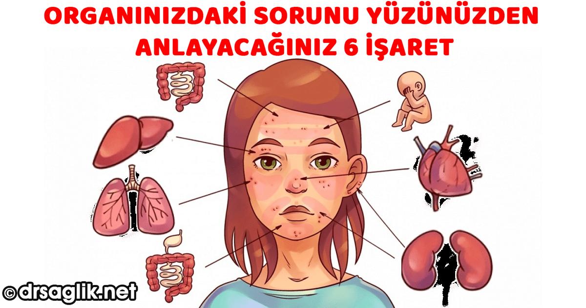 Organdaki Sorunu Suratınızdan Anlayacağınız 6 İşaret