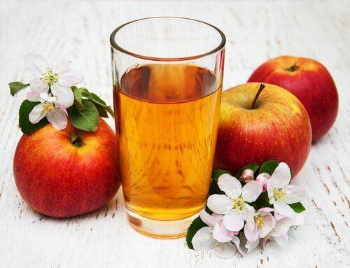 elma ve limon suyu