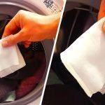 Çamaşır Makinesine Islak Mendil Atmak