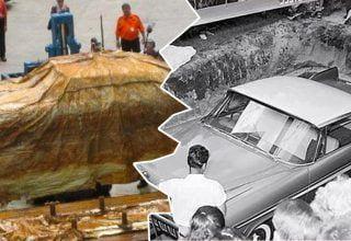 50 Yıl Önce Yerin Altına Gömmüşlerdi, Şimdi Gün Yüzüne Çıktı!