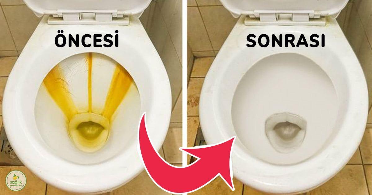 banyoyu 1 dakika içinde temizleyen yöntem