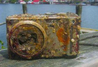 Dalgıçlar Eski Bir Fotoğraf Makinesi Buldu İçindeki Fotoğrafları Görünce Hayrete Düştüler