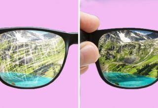 Gözlükteki Çizikler Nasıl Onarılır?