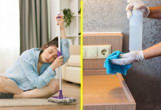 Temizlik Yaparken Evin Daha Çok Pislenmesini Sağlayan 5 Hata