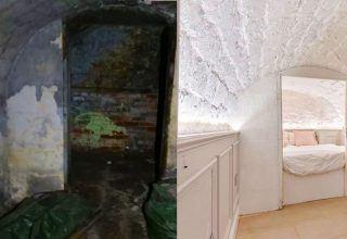 Evinin Bodrum Katını Baştan Aşağı Yeniledi ve Son Halini Görenler Tanıyamıyor