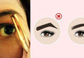 Kaşlarınıza Asla Yapmamanız Gereken 10 Şey