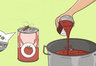 Konserve Gıdaların Kutusunu Kullanmadan Önce Mutlaka Yıkayın
